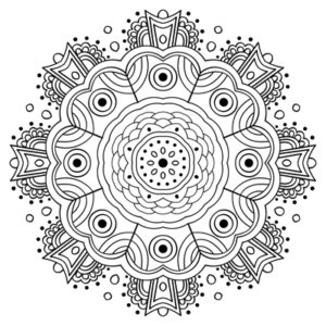 Free Printable Coloring Pages | Color a Mandala