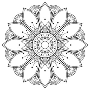 Free Printable Coloring Pages Color A Mandala